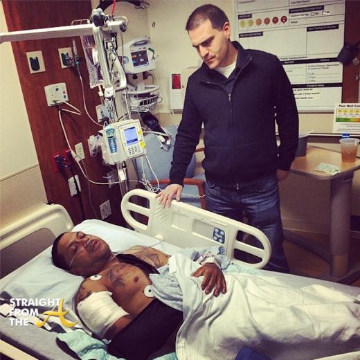 Benzino Shot Hospital Dave Mays StraightFromTheA 1
