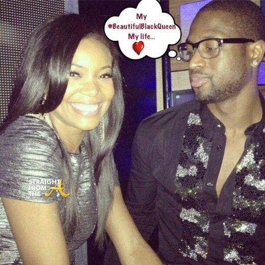 Dwayne-Wade-and-Gabrielle-Union StraightFromTheA 1
