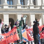 WTF?!? KKK Rally in Downtown Atlanta Caught on Tape… [PHOTOS + VIDEO]