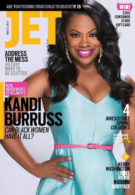 Kandi Burruss JET March 2014