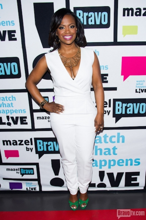 Kandi and Tiny on WWHL StraightFromTheA 2014 12