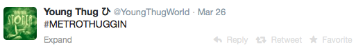 Young Thug Tweet StraightFromTheA 1