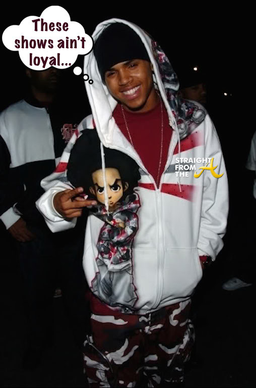 Chris Brown Boondocks StraightFromTheA 1