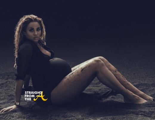 Ciara Baby Bump April 2014 StraightFromTheA 6