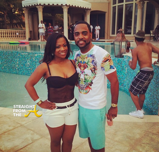 Kandi Burruss Todd Tucker - Will Packer 40th - StraightFromTheA 2014