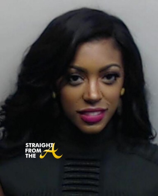 Porsha Stewart Williams Mugshot StriaghtFromTheA