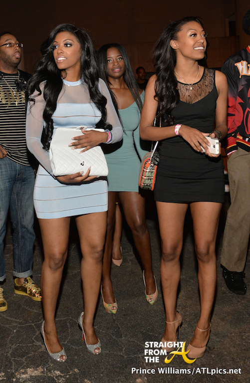 Spotted Rhoa Porsha Williams Parties For Freedom At