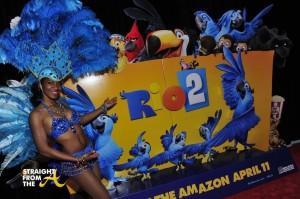 """""""RIO 2"""" Red Carpet Screening With Janelle Monae And Carlos Saldanha"""