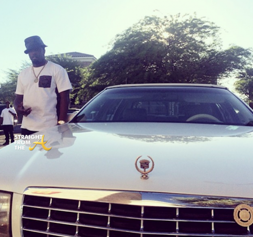 Sean Diddy Combs New Car - StraightFromTheA 2014