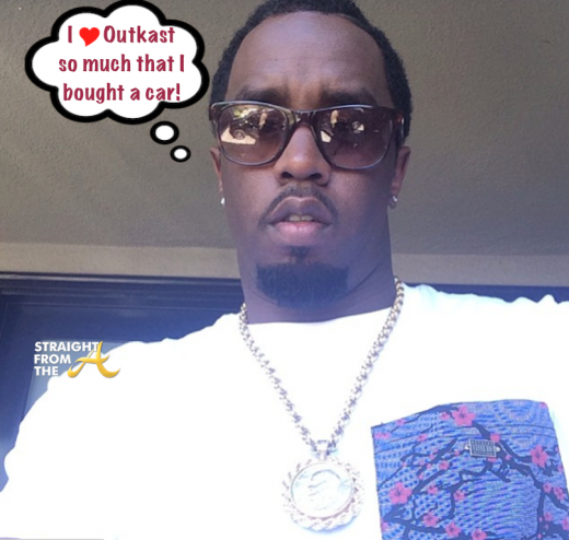 Sean Diddy Combs Selfie - StraightFromTheA