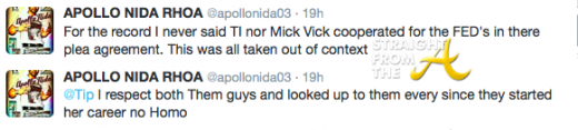 Apollo Apology Tweets