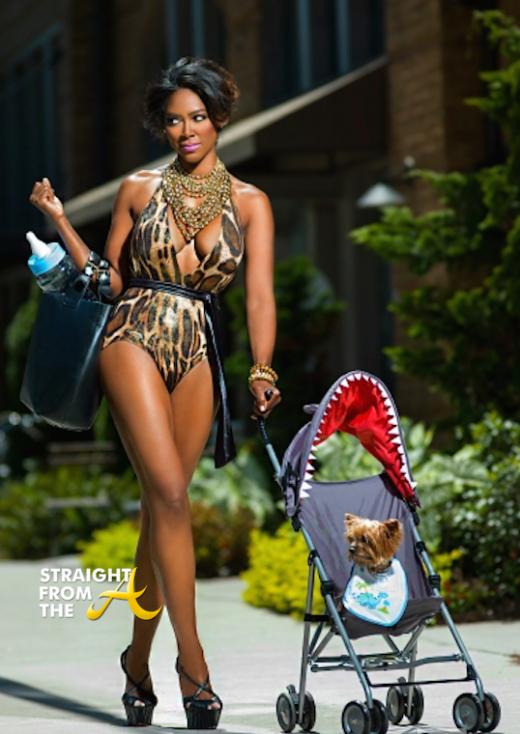 Kenya Moore 2014 Calendar StraightFromTheA-14