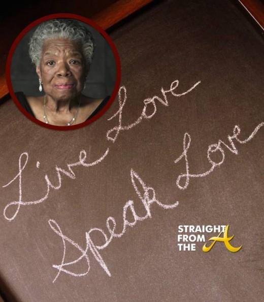 Power of Words Maya Angelou