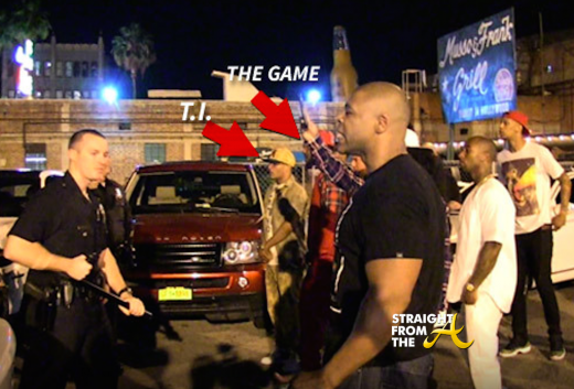 TI and The Game Faceoff with LAPD