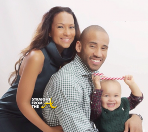 Valeisha Butterfield-Jones- Dahntay Jones and son