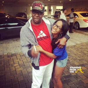 Bobby Brown and Bobbi Kristina 2014