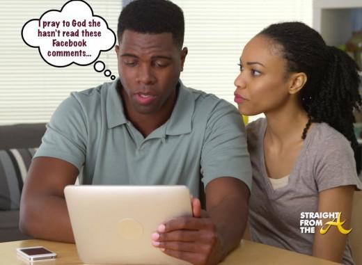 Black Couple Facebook StraightFromTheA