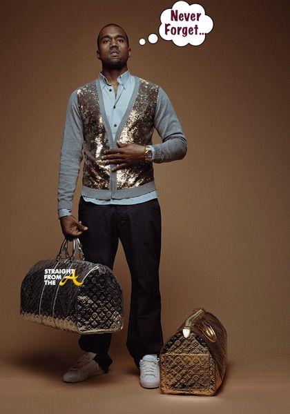 Kanye West Louis Vuitton StraightFromTheA