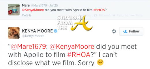 Kenya Moore Tweet 1