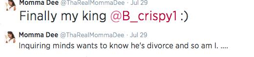 Momma Dee Tweet 2