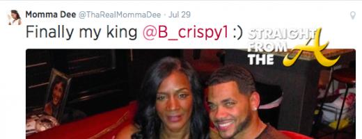 Momma Dee Tweet