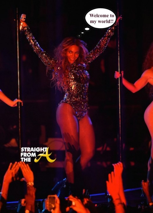 Beyonce 2014 VMA PErformance 1