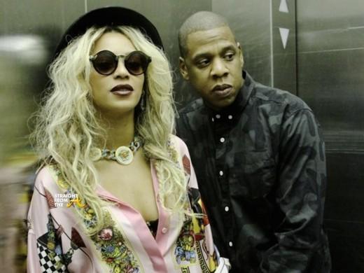 Beyonce Jay Z Elevator Stunt StraightFromTheA