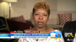 Robin Roberts Michael Brown's Mother - ABC News 2