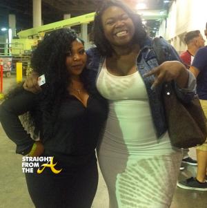 Shekinah and Michelle ATLien Brown - StraightFromTheA 2