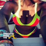 Beach Body Motivation – Tameka Raymond Flaunts Her 'Assets' In Italy… [PHOTOS]