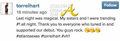 Torrei Hart Instagram