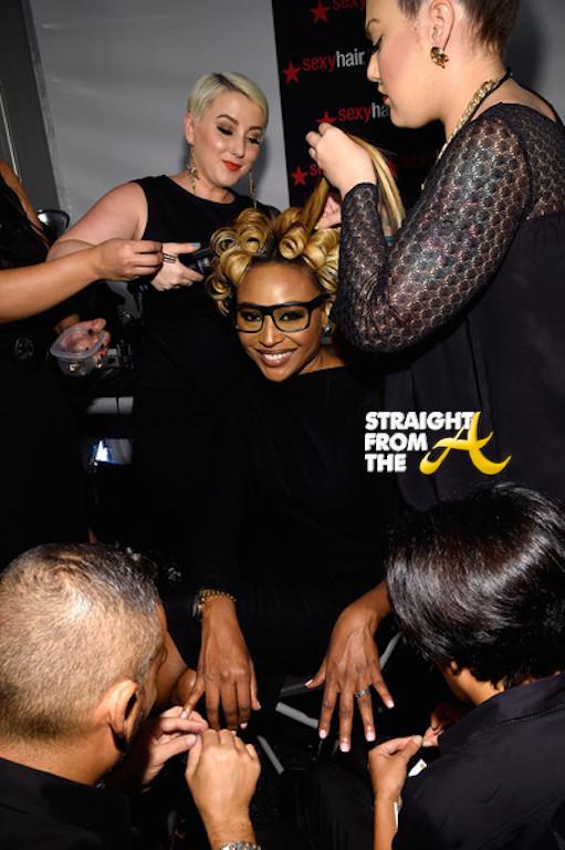 Cynthia Bailey 2014 NYFW StraightFromTheA-1