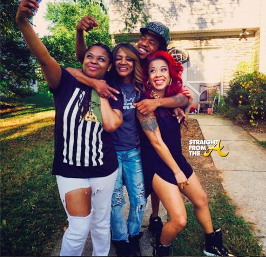 Keyshia Cole Family - StraightFromTehA