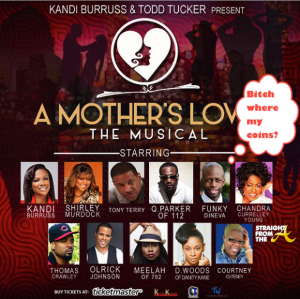 Mother's Love Play Cancelled