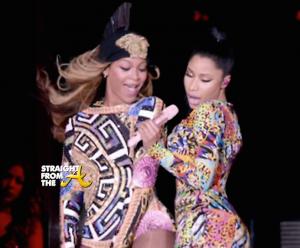 Nicki Minaj and Beyonce - OTR StraightFromTheA 2