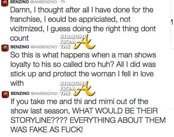 Benzino Tweets