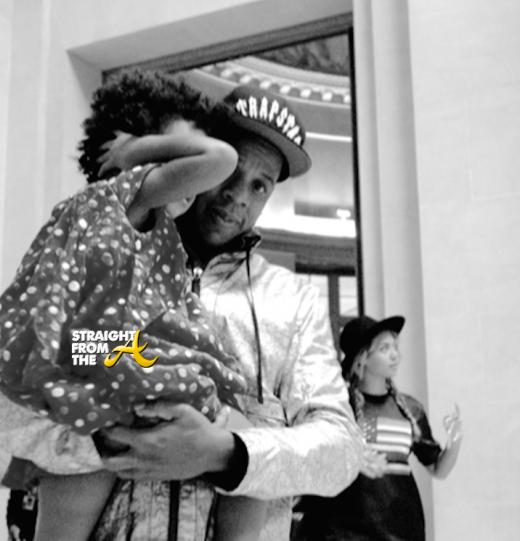 Beyonce Jay-Z Paris Louvre - StraightFromTheA-18