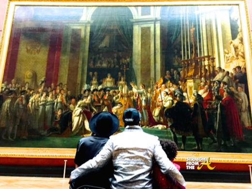 Beyonce Jay-Z Paris Louvre - StraightFromTheA-19