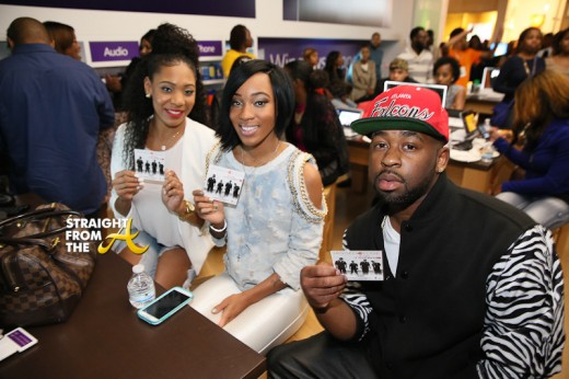 Dondria and friends show love
