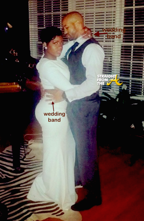 Fantasia Barrino Kendall Taylor Married StraightFromTheA