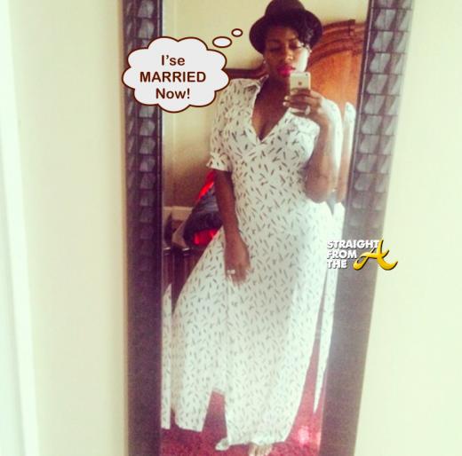 Fantasia Married StraightFromTheA 2014