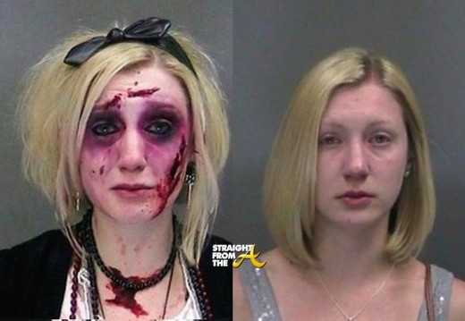 Halloween Mugshot Before and After - StraightFromTheA