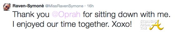 Raven Symone Tweet 1