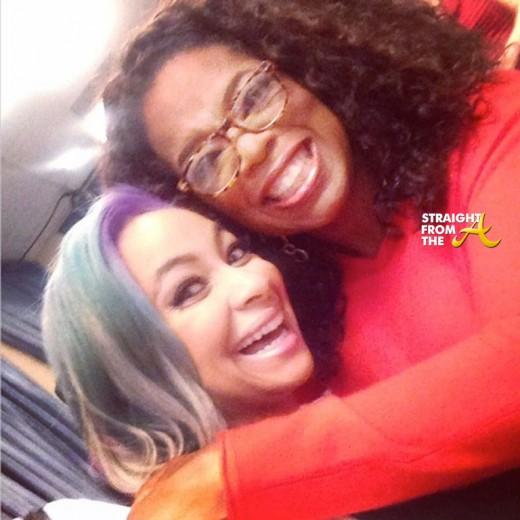 Raven Symone and Oprah Selfie - StraightFromTheA
