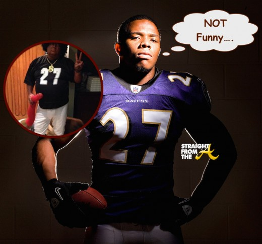 Ray Rice Halloween - StraightFromTHeA