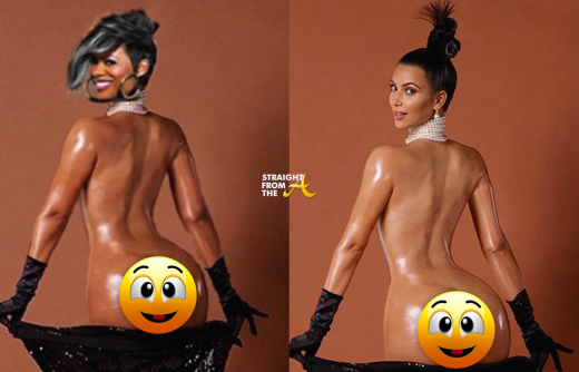 Kandi Burruss vs Kim Kardashian