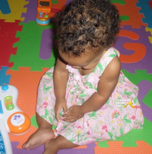 Ludacris Infant Daughter - 2014