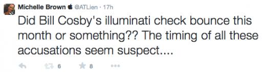 Michelle Brown ATLien Tweets