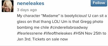 Nene Leakes Cinderella 4