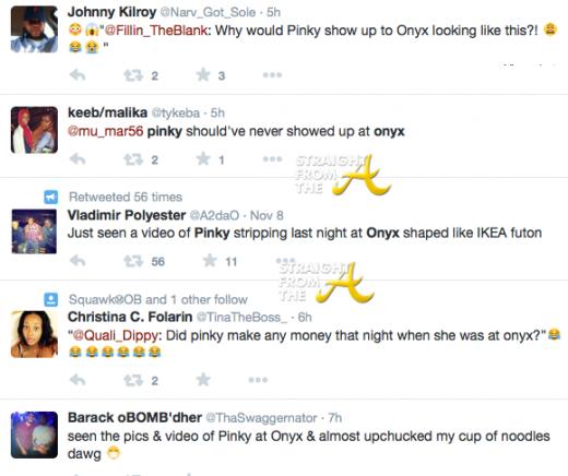 Pinky Tweets 2014 2